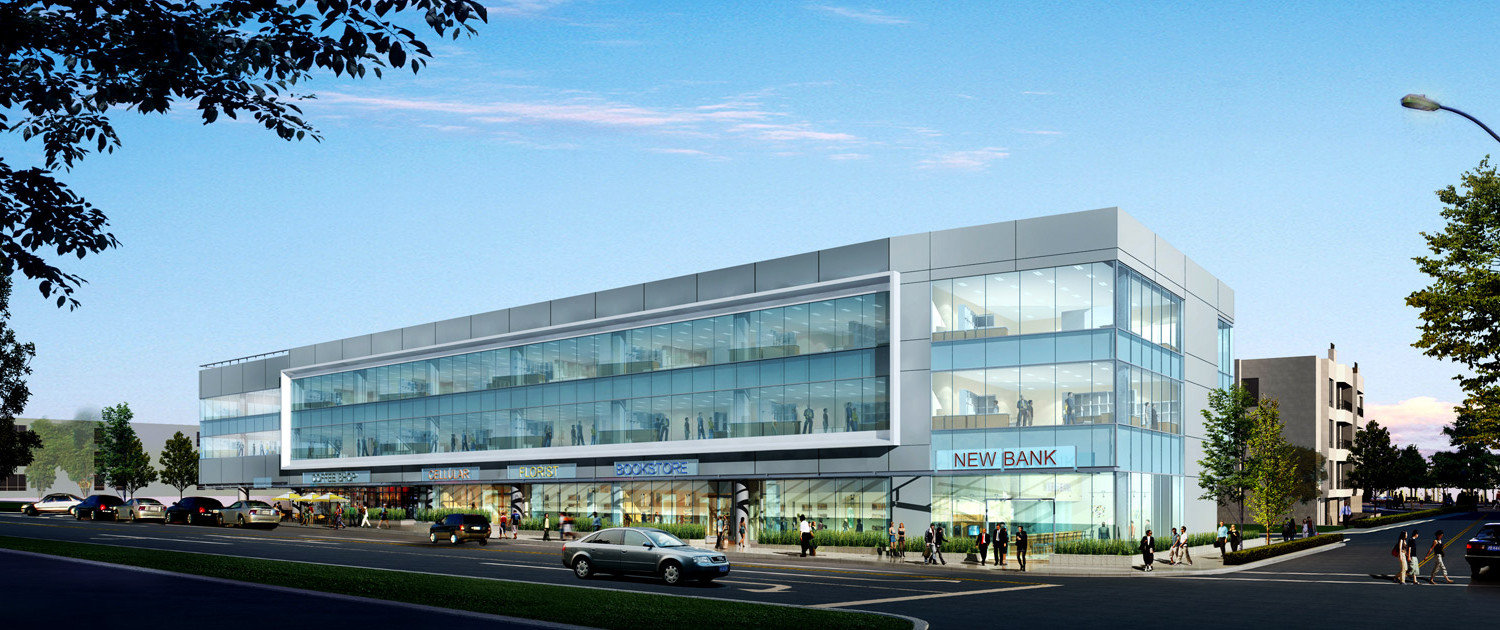 Office Facade Design Buildings